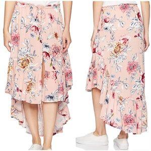 NWT Rip Curl Rose Wildflower Maxi Skirt / XS